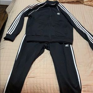 Adidas jump suit men's large